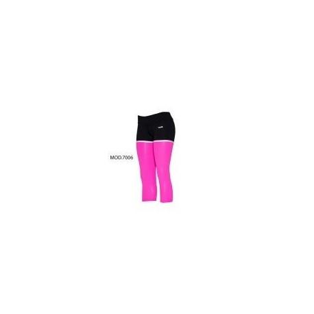 Legging Combinado-Rosa - Envío Gratuito