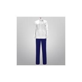 Conjunto Deportivo Puma Knitted Panelled para Dama - Blanco + Azul