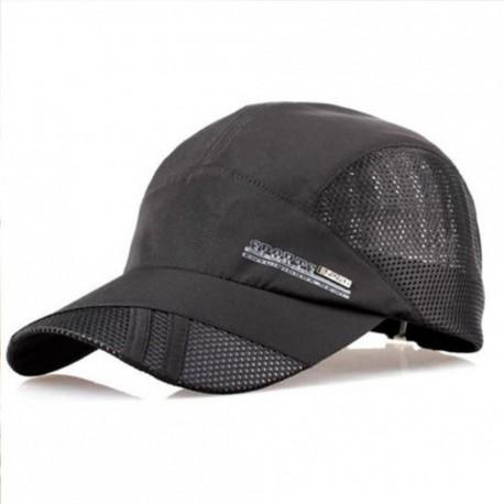 Moda para hombre verano deporte al aire libre del sombrero de béisbol Correr Visor Cap ajustable Armada - Envío Gratuito