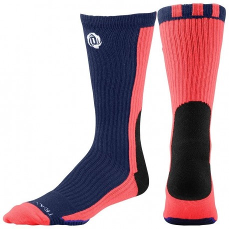 Calcetas para Basketball Adidas D-Rose Crew Socks para Caballero - Azul + Naranja - Envío Gratuito