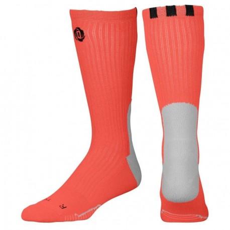 Calcetas para Basketball Adidas D-Rose Crew Socks para Caballero - Naranja - Envío Gratuito