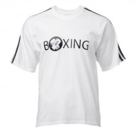 Playera Boxing Adidas ADIRSH02W-Blanco
