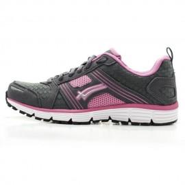 Tenis deportivo Karosso 3320 gris rosa
