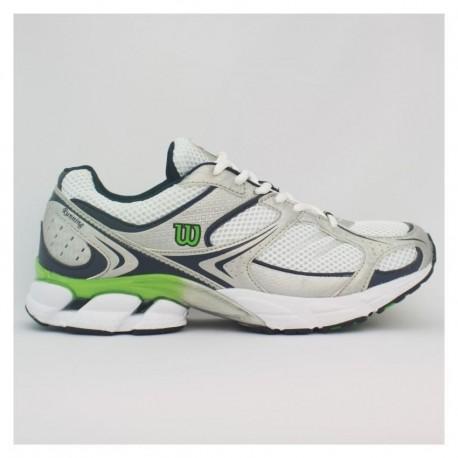 Tenis Wilson WL0197 - Blanco/Verde - Envío Gratuito