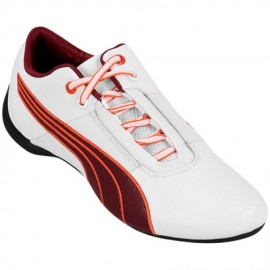 Tenis Puma Future Cat S1 27 - Blanco+Vino