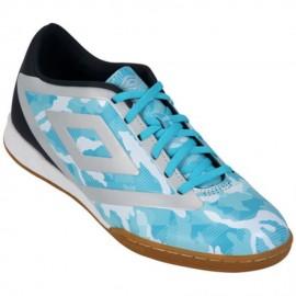 Tenis De Futbol Umbro Geo Flare Ic 30 - Azul Turquesa+Gris
