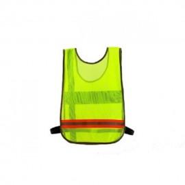 Chaleco De Seguridad Reflejante, Liviano Y Comodo Deportes Marca Gneos