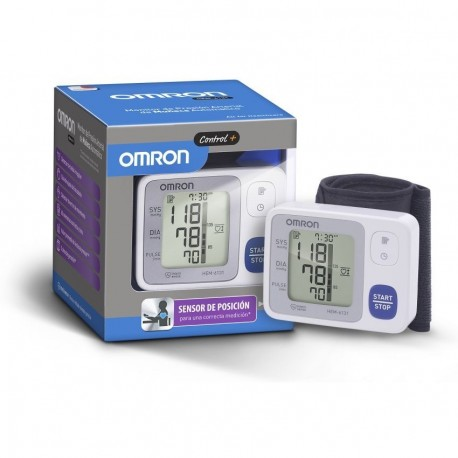 Monitor de Presión Arterial Control Plus Omron HEM-6131-Blanco - Envío Gratuito