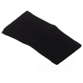 Elenxs Negro Protección Codo ayuda del apoyo del abrigo de Deportes Tenis Golf M
