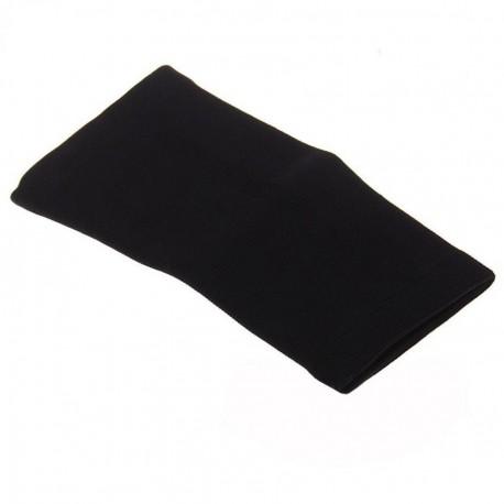 Elenxs Negro Protección Codo ayuda del apoyo del abrigo de Deportes Tenis Golf M - Envío Gratuito