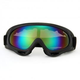 Gafas Protección para Moto Motocross Esqui Deporte Ajustable Negro