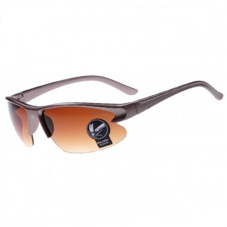 Sunglasses Lentes de Sol Deportivo Multi-Color Protección contra Rayos UVA UVB OASAP-ES71406-Marrón - Envío Gratuito