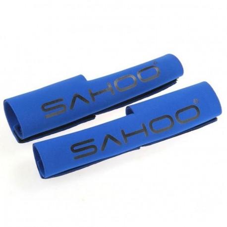 2 Protectores para Horquilla de Bicicleta Azul Neopreno Deporte - Envío Gratuito