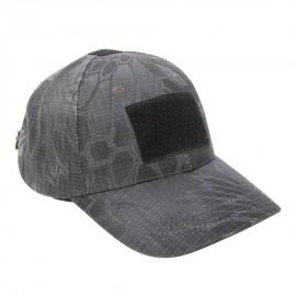 Gorra de Béisbol para Hombre Camuflaje Aire libre Deporte Camuflaje Negro