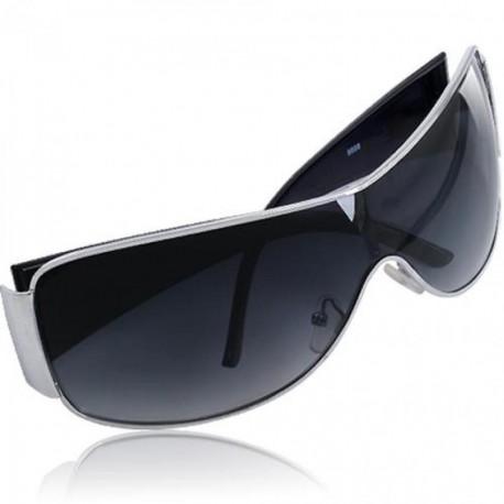 Espejo Gafas Sol Sunglasses Negro Deportes UV400 Nuevo - Envío Gratuito