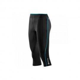 Capri de compresión SKINS B61073008FS-Negro con Azul