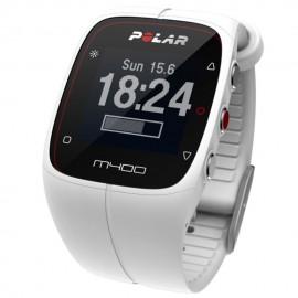 Medidor de Pulsos Cardiacos Unisex Polar M400 90051347-Blanco