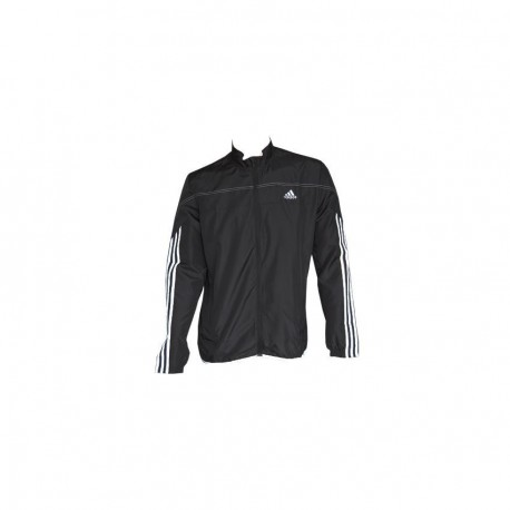 Chamarra para correr de Hombre Adidas Response W JKT M D88342 -Negro - Envío Gratuito
