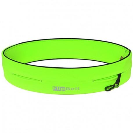 Cinturon Fitness FlipBelt-Verde Neon - Envío Gratuito