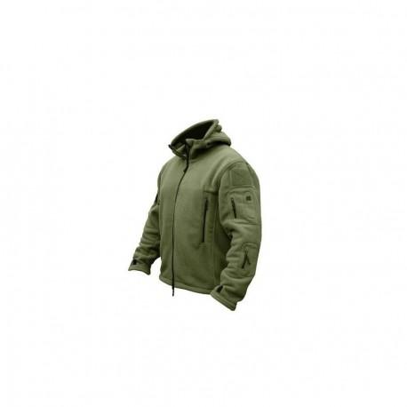 Softshell Jacket Polartec Thermal Al Aire Libre Escudo Deporte Senderismo Polar Con Capucha Verde - Envío Gratuito
