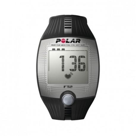 Reloj Monitor de Pulso Polar Activo Fitness FT2-Negro - Envío Gratuito