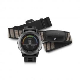 Reloj Multideporte Garmin Fenix 3 con banda-Gris