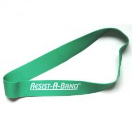Banda corta de tensión dinámica 15 Lbs (legband)Verde (LVD)