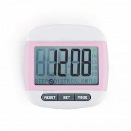 Mini LCD Pedometer (Rosa)