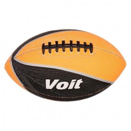 Balón de Futball Americano Voit Hule Mx 70796-Negro con naranja - Envío Gratuito