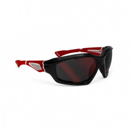 Lentes Bertoni FT1000B Lens-Negro Rojo - Envío Gratuito
