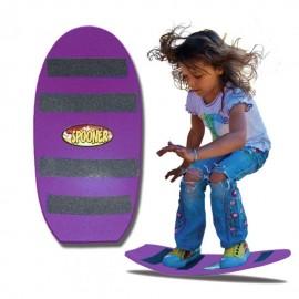 Patineta/Tabla de Blalance Spoonerboards FREESTYLE mayores de 4 años Morada - Envío Gratuito