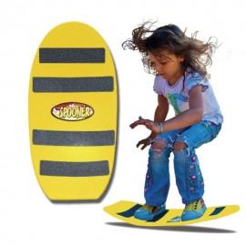Patineta/Tabla de Blalance Spoonerboards FREESTYLE mayores de 4 años Amarillo - Envío Gratuito