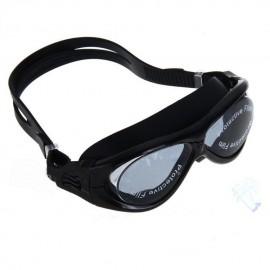 Nueva Swim Gafas de natación Deportes antiniebla impermeable Adulto Negro + Tapones - Envío Gratuito
