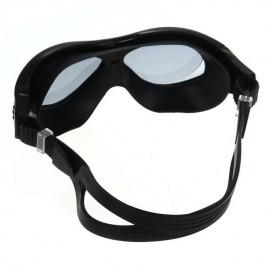 Elenxs Nueva Swim Gafas de natación Deportes antiniebla impermeable adulto Negro + Tapones - Envío Gratuito