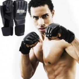 1 par fresco MMA Muay tailandés Guantes de Entrenamiento Saco de Boxeo La mitad de los mitones Sparring Boxing Gym - Envío Gratu