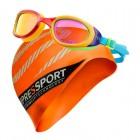 Paquete Tri Goggles y Gorra de Natación - Envío Gratuito