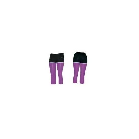 Legging Combinado TOA-bugambilia - Envío Gratuito