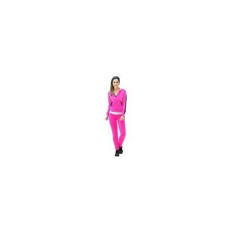 Pants Deportivo TSX Rosa con Negro Para Dama - Envío Gratuito