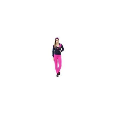 Pants Deportivo TSX Rosa con Azul y Gris para Dama - Envío Gratuito
