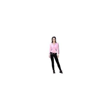 Pants Deportivo TSX Negro con Gris y Rosa Para Dama - Envío Gratuito