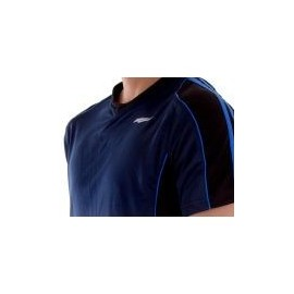 Playera Deportiva Run-Gym Azul