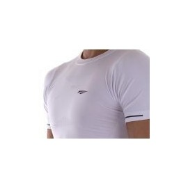 Playera Deportiva Run-Gym Blanco