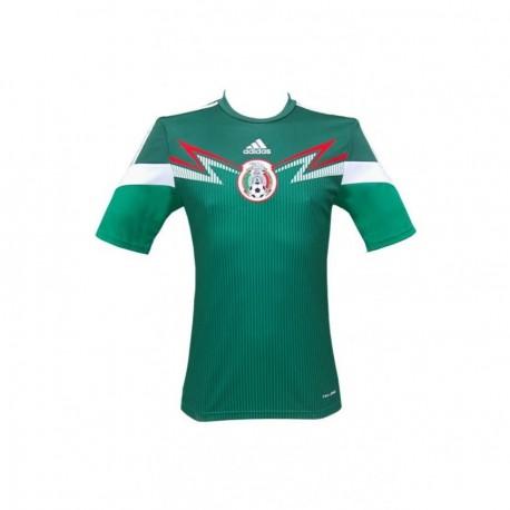 Playera Selección Mexicana Local para Caballero Adidas 2013-2014 G86985-Verde - Envío Gratuito