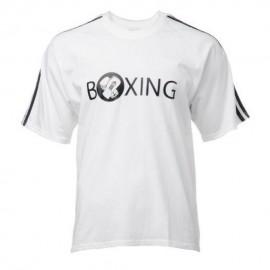 Playera Boxing Adidas ADIRSH02W-Blanco