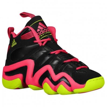 Tenis para Basketball Adidas Crazy 8 GSB Black Berry para Dama - Negro + Rosa - Envío Gratuito