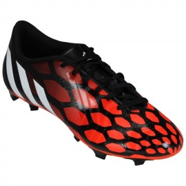 Tachones para Fútbol Adidas Predito Instinct FG para Caballero - Rojo + Negro