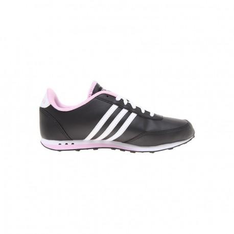 Tenis Adidas Neo Style Racer - Negro con Lila - Envío Gratuito