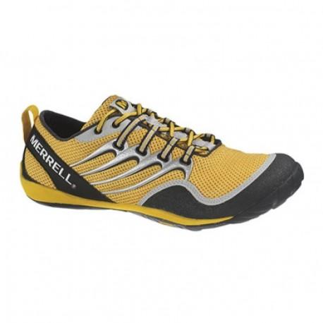 Tenis Merrell Trail Glove/Anodized Gold J39033 (Amarillo-Negro) - Envío Gratuito