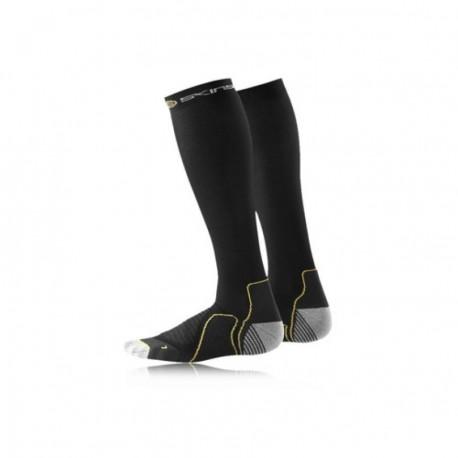 Calcetas deportivas de compresión Unisex Skins B59052927-Negro - Envío Gratuito