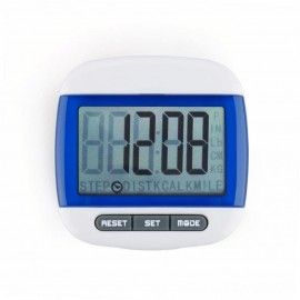 Mini LCD podómetro deportes-Azul